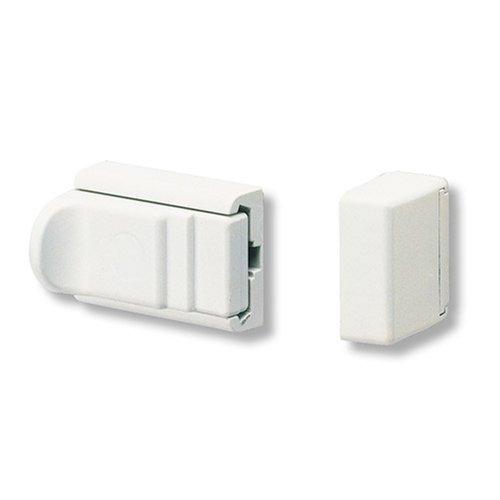 BURG-WÄCHTER Tür- und Fenstersicherung, Beidseitig verwendbar, Komfort-Riegel R 60 W SB, Weiß
