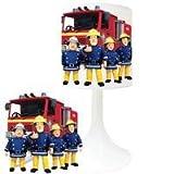 SAM Feuerwehrmann (1)–Nachttischlampe Schaffung von–Lampe Stellen Kinder