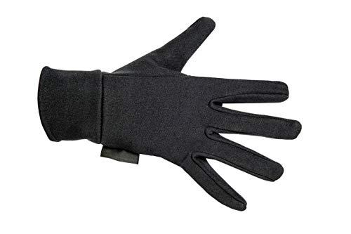 HKM Erwachsene Reithandschuhe-Fleece-9100 schwarzXS Hose, 9100 schwarz, XS -