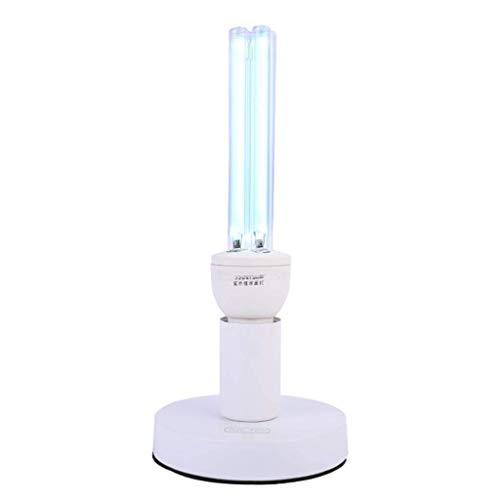 Desinfektionslampe UV-Licht Sterilisation Licht Haushaltsluft Desinfektion Luftreiniger Anti-Grippe LEBAO (Size : Timing Base+Remote Control) -