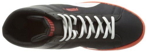 Puma  Archive Lite Mid Ripstop,  Sneaker a collo alto unisex adulto Nero (Schwarz (black-white-cherry tomato 02))