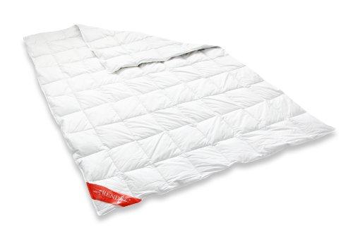 Badenia 03620190149 Daunendecke Trendline Comfort Leicht, 155 x 220 cm,Weiß