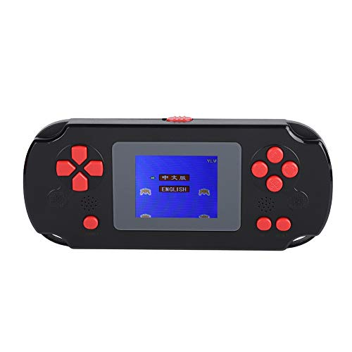 Zerone PVP3000 Handheld-Spielkonsole, 268 Klassische Spiele, Retro-Konsole, tragbares Videospiel-Spielkonsole, Geburtstagsgeschenk für Kinder, GBA, GBC, SEGA, NES, SFC, NEOGEO