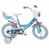 Viscio Trading 163562 - Frozen Bicicletta Bambina