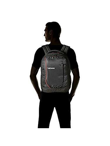 Lenovo Laptop Bag 15.6 inch Backpack Black Red for HP Dell Laptops Image 3