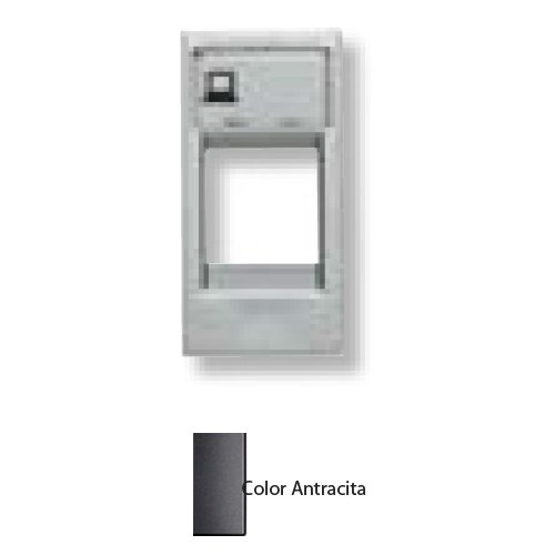 Niessen - n2118.1an tapa ventana 1 conector zenit antracita Ref. 6522010062