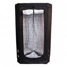 Chambre de culture Mylar pour Angle - 120 x 75 x 160 cm - Black Silver