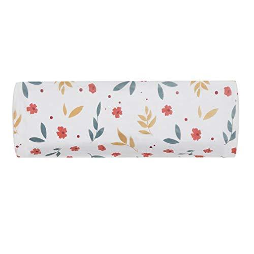 LIXIAQ1 Druck Klimaanlage Staubschutz Blume Geometrisches Muster Reinigungsdeckel Wasserdicht Home Air Conditioner Staubschutz, Floral -