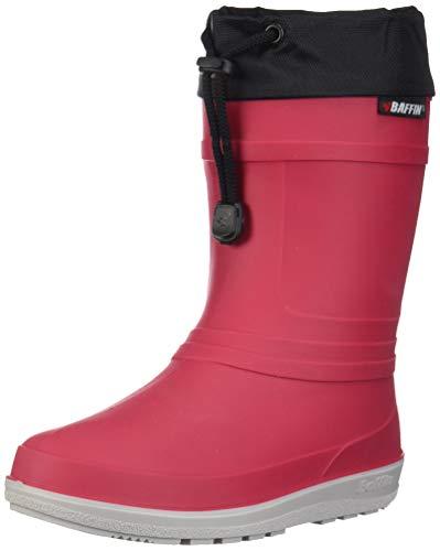 Baffin Kids Boys Little Hunter - 30 PLN C Rubber Mid-Calf Lace Up Rain Boots