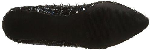 Steve Madden Xhail, Ballerines femme multicolore (Black Multi)