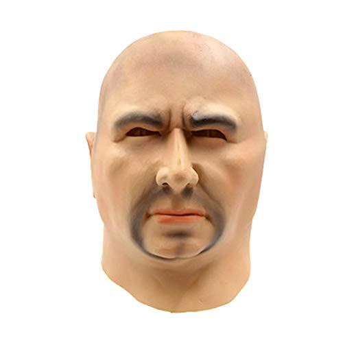 SJZC Maske Halloween Cosplay Porträt Masken Latex Erwachsene Prop Lustig Kind Spielzeug