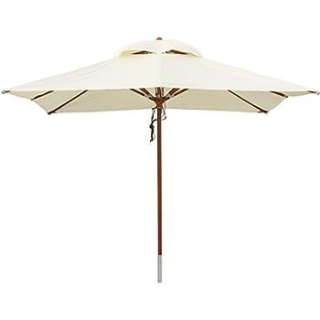 Extremely Amazon.de: anndora® Sonnenschirm 3 m rund Gartenschirm Marktschirm  TR43