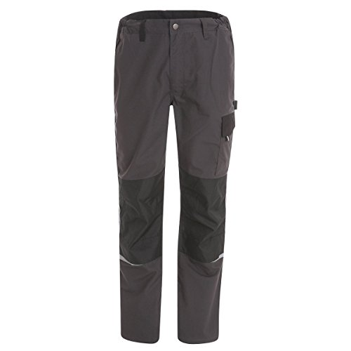 Pantalones De Trabajo Terra - Línea Azione by Work And Style - - Gris, S