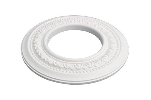 Spot Licht Ring Trim Weiß Medaillon Urethan-Schaum Licht Einbauleuchte Deckenleuchte Trim 4Innendurchmesser | Renovator wochenbedarfs -