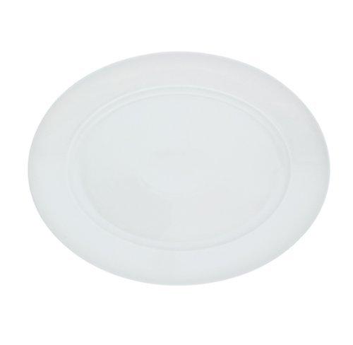Kahla - Porcelaine pour les Sens 453306A90045B Aronda Plateau Ovale Blanc 32 cm