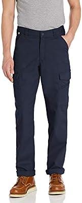 Carhartt FR Rugged Flex Pantalón de Trabajo de Ajuste Relajado para Hombre - Azul - 48W x 30L