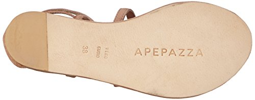 Apepazza Giselle Crosta, Spartiates femme Rose - Pink (CARNE)