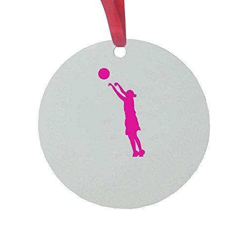 CustomGiftsNow Personalizadas Rosa niña Baloncesto