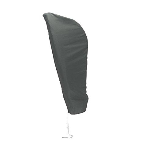 greemotion Schutzhülle Sonnenschirm 3m Durchmesser - Schirmhülle Ampelschirm in Grau -...