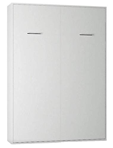 ELBM LIT ESCAMOTABLE Vertical Blanc 140 X 200