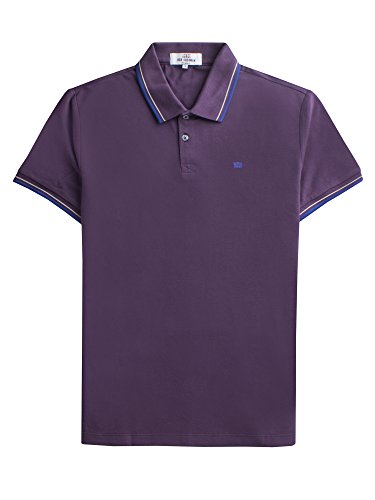Ben Sherman Herren Poloshirt the Romford Polo Blau (Plum Perfect 560) (Plum Perfect 560)