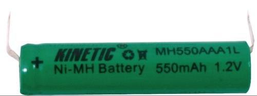 pile rechargeable à souder Ni-MH backup 1.2 V 550 mAh