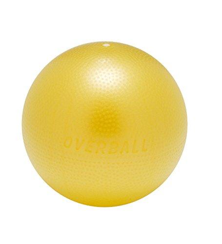 Overball 23cm BLAU ROT GELB PILATESBALL Gymnastikball, Yoga Übungsball, Yogaball, Soft Pilates, Therapieball, GYMNIC (gelb)