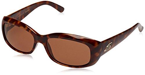 Serengeti Eyewear Erwachsene Bianca Sonnenbrille, Red Moss Tortoise, Medium