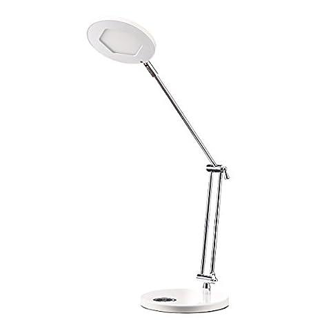 XXFFH Lampe À Incandescence À Led Fluorescente Toucher Réglable Led Desk Lampe Métal Léger Pliage Aluminium Entreprise Led Lampe Mode Créative