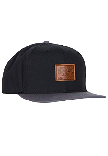 Element Collective Cap A - Flint Black - One Size