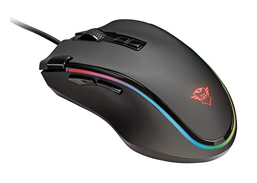Trust Laban GXT 188 RGB LED Pro Laser Gaming Maus schwarz - Laser Gaming Mouse Scroll