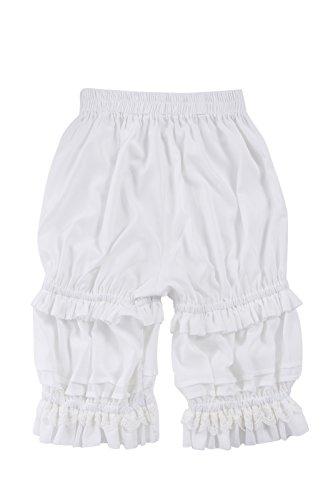 Nuoqi Damen Süße Lolita Pumphose Pettipants Pluderhose Pantaloons Maid Kürbis mit Rüschen ()