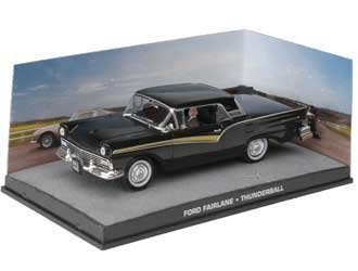 Ex Mag Ford Fairlane Skyliner Modellauto aus James Bond Thunderball