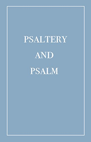 Psaltery and Psalm (Volume 2) (English Edition)