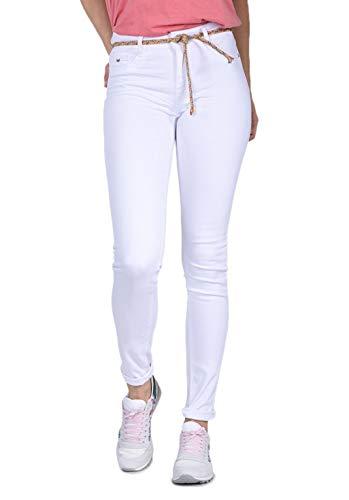 Kaporal Jeans Slim Femme Power Blanc