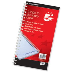 brand-new-5-star-things-to-do-today-book-wirebound-6-months-115-pages-280x140mm