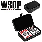 World Series Of Poker Playing Cards - Leather Case