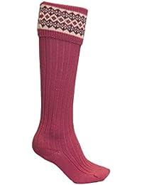 6c71228f5 Amazon.co.uk  Pink - Knee-High Socks   Socks   Tights  Clothing