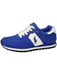 Polo Ralph Lauren SLATON PONY Sneakers Basse Uomo Blu Royal 41