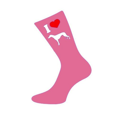 i-love-greyhound-womens-pink-socks
