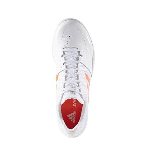 adidas Adizero Long Jump, Chaussures d'Athlétisme Mixte Adulte Blanc (Ftwr White/solar Red/silver Metallic)