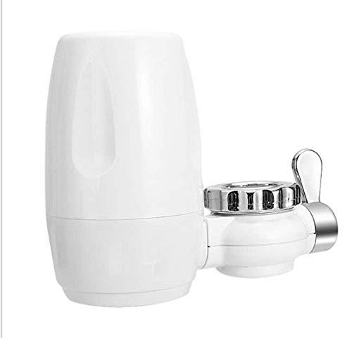 Filtro de agua de grifo reemplazable con núcleo de filtro de cerámica lavable, elimina cloro, fluoruro, bacterias, virus, productos químicos pesticidas para la cocina o el baño