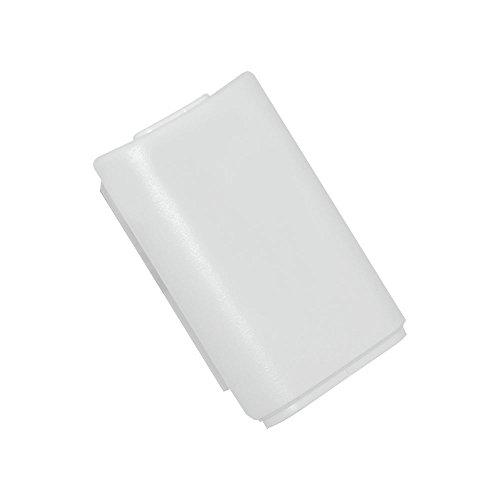 Cover Sostitutiva Vano porta batteria Bianco per XBOX microsoft 360 Wireless Controller di gioco Gamepad