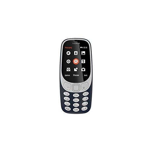 nokia 3310 telefono cellulare dual sim, memoria interna da 16 mb, dual sim, blu scuro
