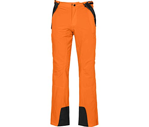 Bergson Herren Skihose Flex Light, Persimmon orange [513], 26 - Herren
