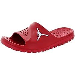 Nike Jordan Super.Fly Team Slide, Zapatillas de Baloncesto para Hombre, Rojo/Blanco (Gym Red/White), 46 EU