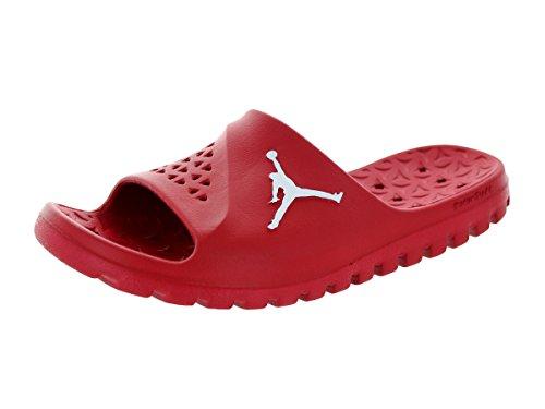 Nike Jordan Super.Fly Team Slide, Chaussures de Sport-Basketball Homme, Rouge Multicolore - Rojo / Blanco (Gym Red / White)