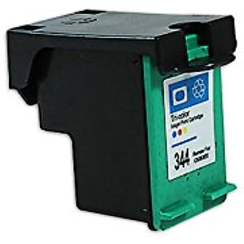 Compatible para HP OfficeJet Pro K 7100 Cartucho de Tinta C9363EE Nr 344 CMY 18 ml