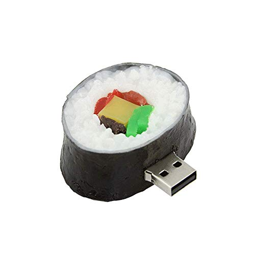 Mmpy sushi shape usb 2.0 flash drive memory stick thumb drive carino disco drive u disco regalo (dimensioni : 8gb)