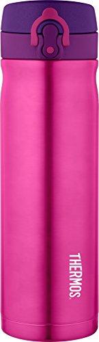 Thermos Edelstahl Direct Drink Fläschchen, 470ml-Pink